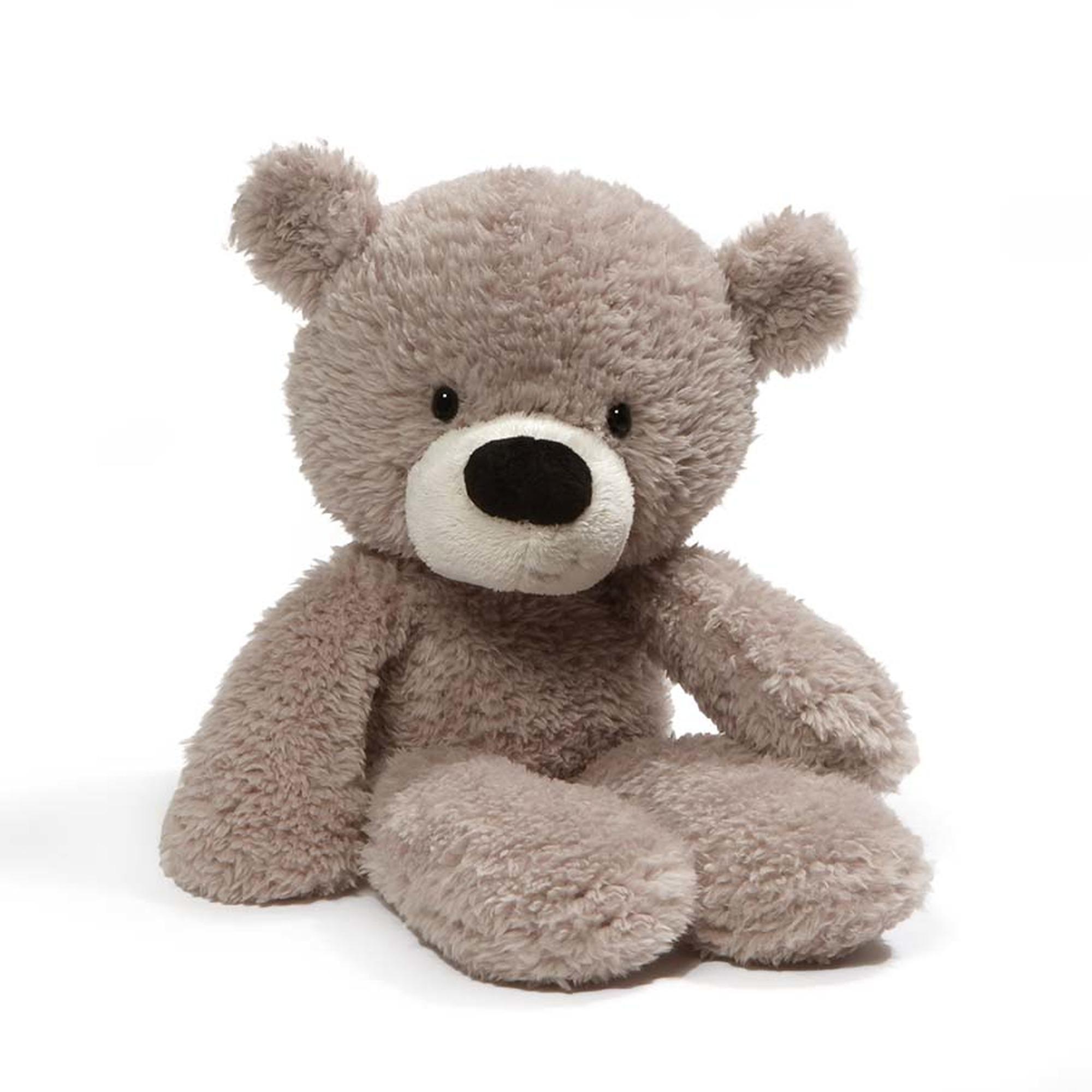 c1dc20a6907f Gund Fuzzy Teddy Bear Gray 13.5 Inches   Soft Toys Singapore